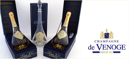 Champagne de Venoge. Cuvée Louis XV.