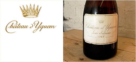 Château d'Yquem 1787: El vino más caro del mundo