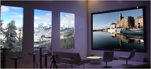 Tecnovision Luxio de 205 pulgadas LED HDTV