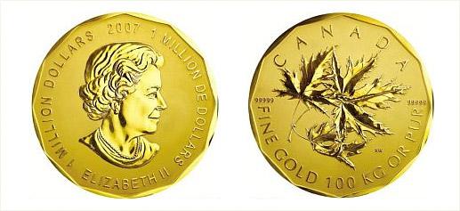 La Moneda De Oro Mas Grande