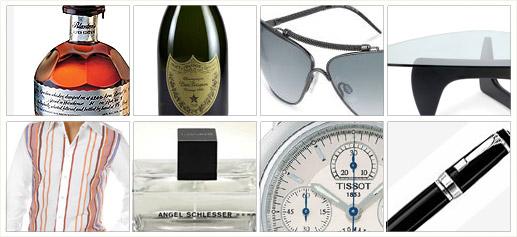 Blanton's Dom Perignon Roberto Cavalli Dolce Gabbana Angel Schlesser Tissot Montblanc