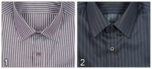 Camisa de Gucci vs Camisa de Prada