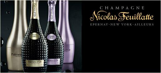 Champagne Palmes d'Or Vintage 1997 de Nicolas Feuillatte