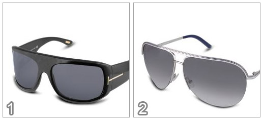 Gafas del sol Tom Ford. Porfirio vs Gafas de sol Marc Jacobs. Aviador