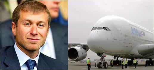 Roman Abramovich compra Airbus A380