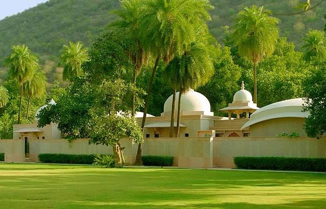 Los diez hoteles m s lujosos de india for Hotel jardines de bilbao
