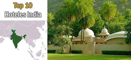 Los diez hoteles mas lujosos de India