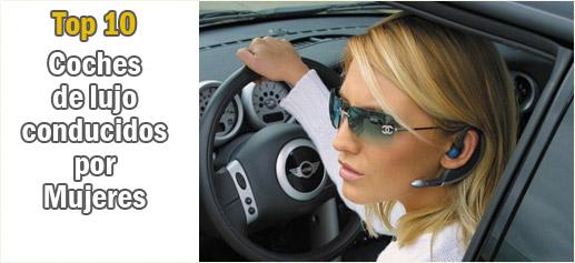 Los diez coches de lujo más conducidos por mujeres