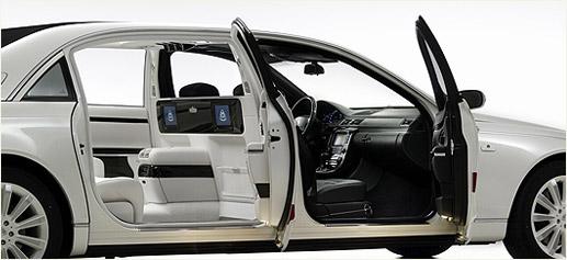Maybach Landaulet, el lujo hecho automóvil