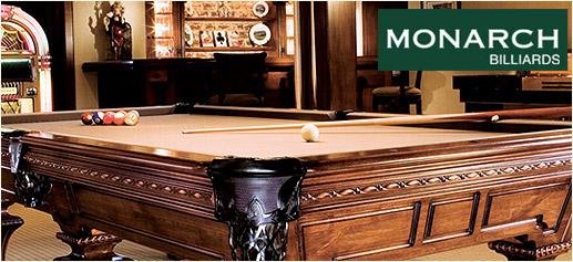 Monarch Billiards, las mejores mesas de billar del mundo