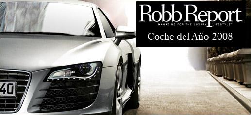 Robb Report Coche Del Ano 2008