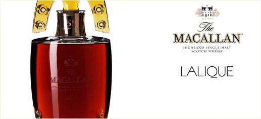 Whisky The Macallan 55 años en decantador Lalique