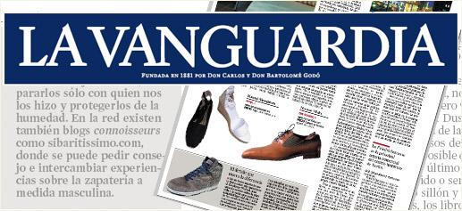 Sibaritissimo en La Vanguardia