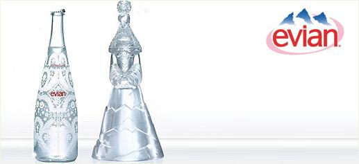 Evian, agua de alta costura