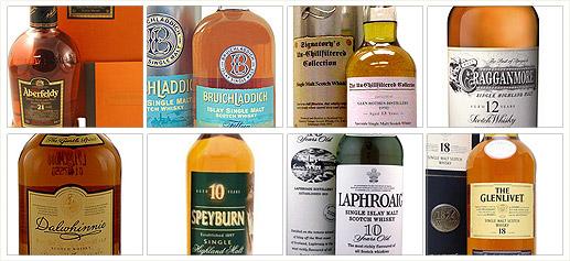 La selección del Sibarita (X). Especial Whisky