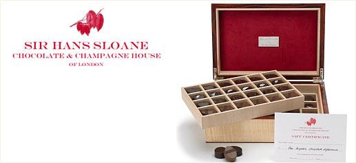 Sir Hans Sloane, exclusivo chocolate