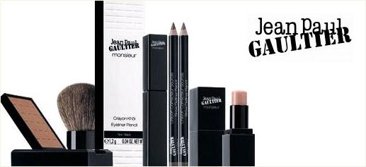 Monsieur, maquillaje masculino de Jean Paul Gaultier