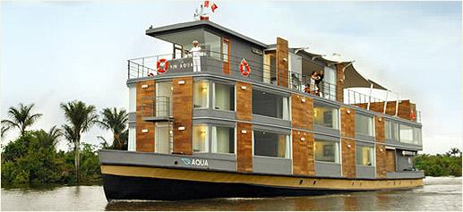 MV Aqua, crucero de lujo por el Amazonas