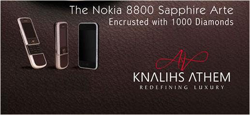 Nokia 8800 Sapphire Arte by Knalihs Athem