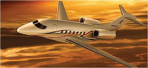 Cessna Citation Columbus, un jet privado de lujo