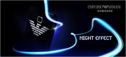 Teléfono móvil Emporio Armani Night Effect