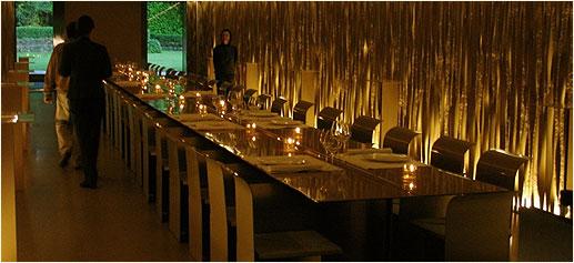 Les Cols, Restaurante + Pabellones