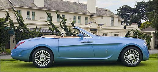 Rolls Royce Hyperion, lujo por Pininfarina