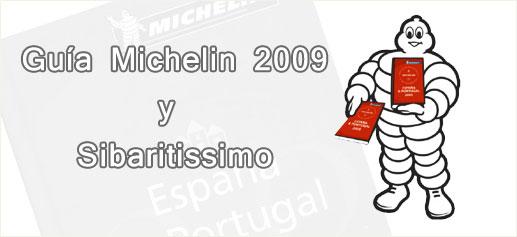Estrellas Guia Michelin 2009