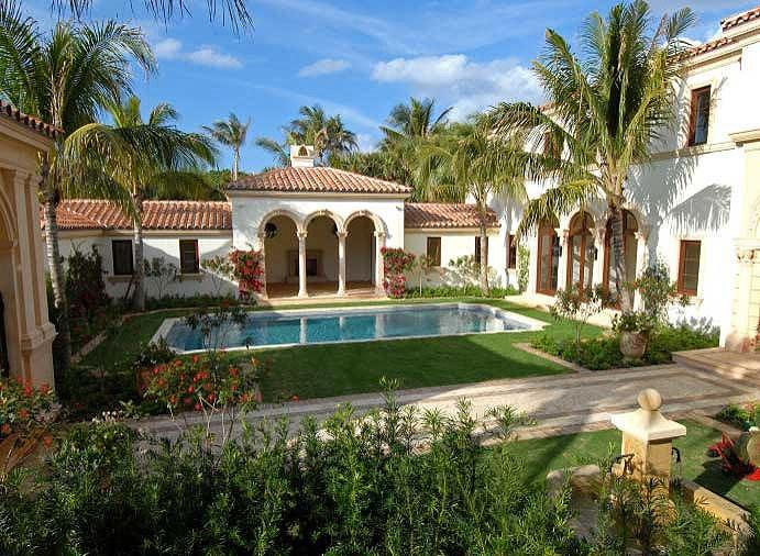 Viviendas de lujo casa del mar palm beach florida for Casas mas bonitas del mundo