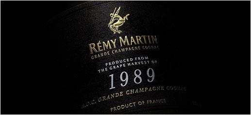 Cognac Rémy Martin Cosecha 1989