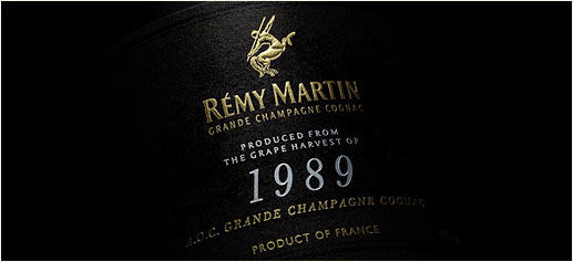 Cognac Remy Martin Cosecha 1989