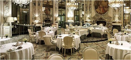 Restaurante le meurice - Salones lujosos ...