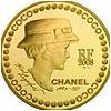 Moneda Coco Chanel Por Karl Lagerfeld