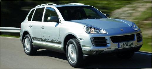 Porsche Cayenne S-Hybrid