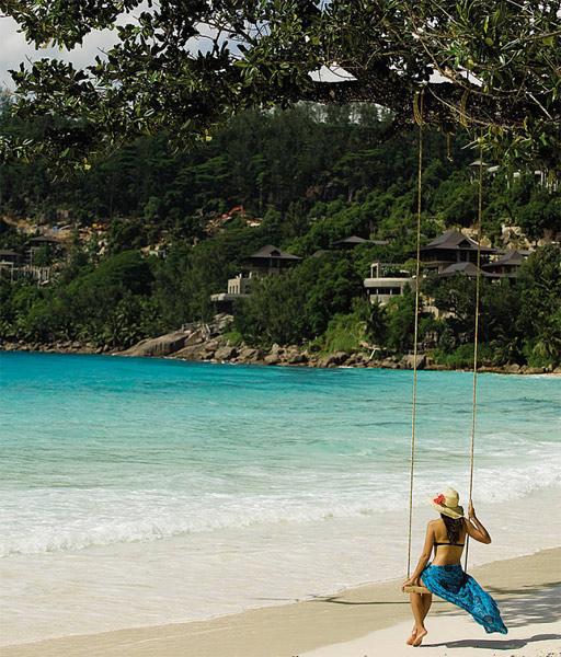 four seasons resort seychelles. Black Bedroom Furniture Sets. Home Design Ideas
