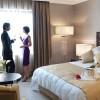 InterContinental Madrid. Suite Real. Detalle dormitorio.