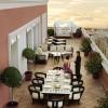InterContinental Madrid. Suite Real. Detalle terraza.