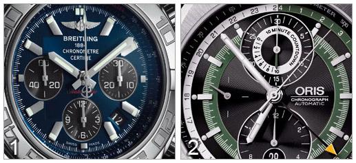 Breitling Chronomat B01 vs Oris Chronoris Grand Prix '70 Limited Edition