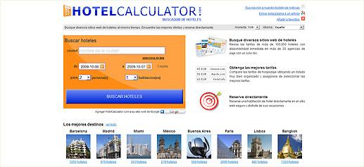 Hotelcalculator Buscador Hoteles