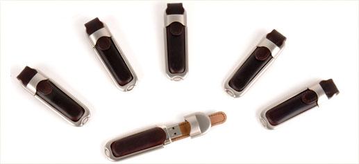 Memorias USB de Shell Cordovan