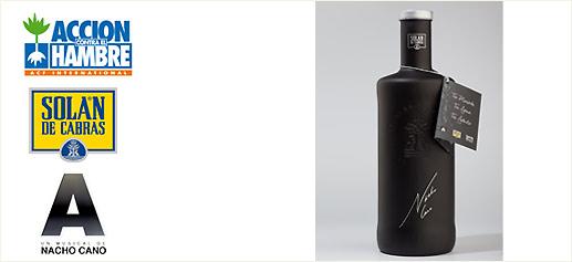 Agua Solán de Cabras, edición especial limitada de Nacho Cano