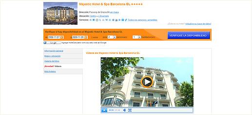 HotelCalculator.com, videopresentaciones de hoteles