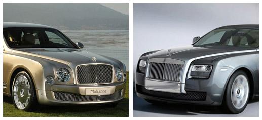 Bentley Mulsanne o Rolls Royce Ghost, la eterna duda británica