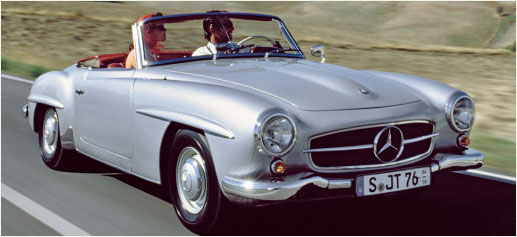 Cochera, Mercedes clásicos