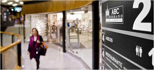 ABC Serrano, Centro Comercial de lujo