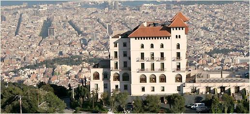 Hoteles de lujo con vistas a barcelona gran hotel la Hoteles en barcelona ciudad