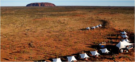 Longitude 131º, Parque Nacional de Uluru-Kata Tjuta