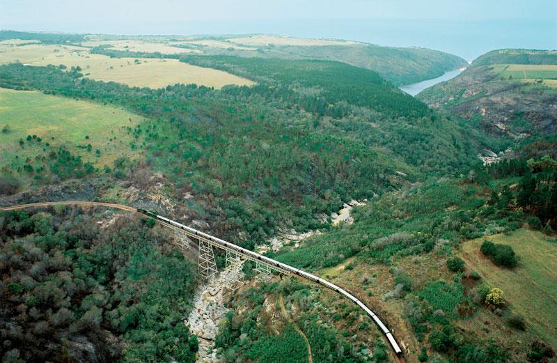 Rovos Rail a su paso por Groot Brak River