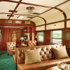 Rovos Rail. Coche club lounge