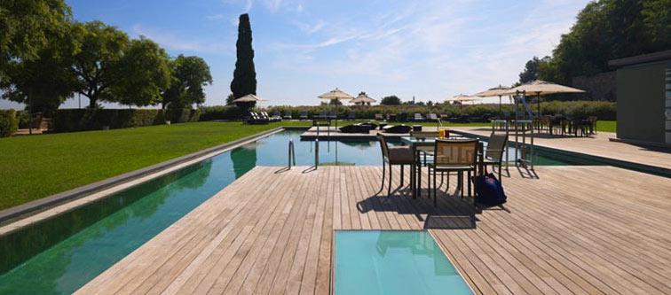 Hoteles de lujo con vistas a barcelona gran hotel la florida y miramar barcelona gl - Hoteles en huesca con piscina ...